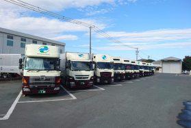 大型トラック長距離ドライバー(一般貨物・関西~関東)