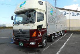 大型トラック長距離ドライバー(紙製品・中京~関東)